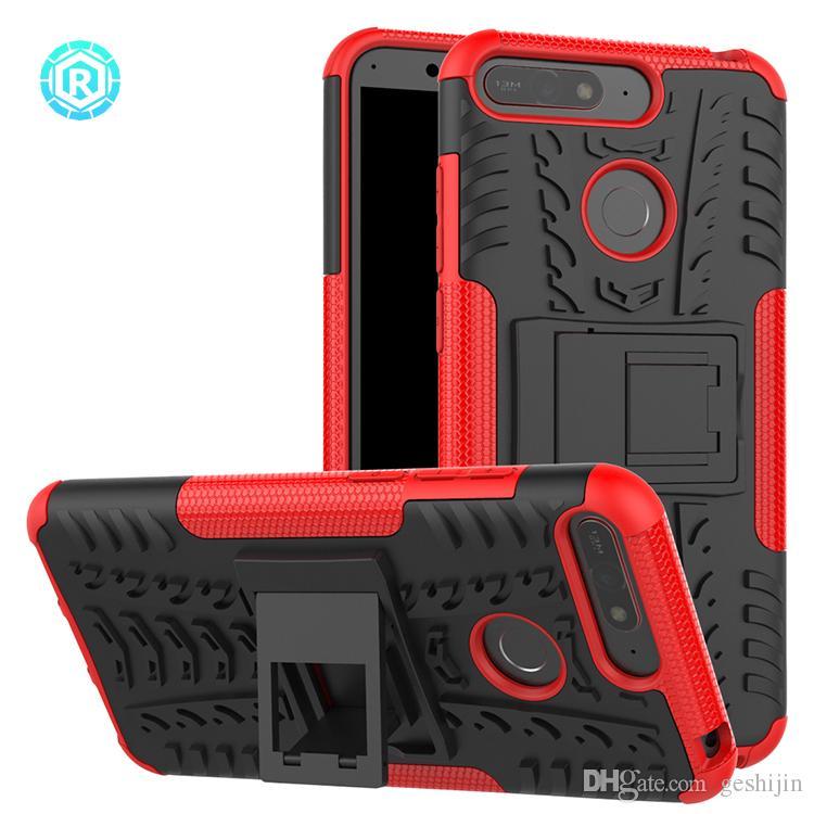 outdoor naranja para Huawei Nova bolso funda cubierta protección de nuevo Hybrid case 2 pzas