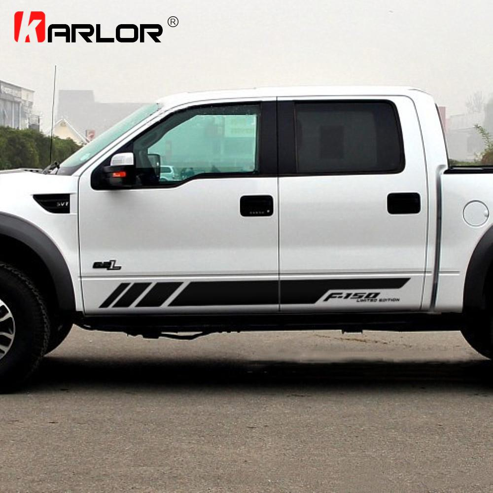 1 Para Auto Auto Beidseitig Aufkleber Aufkleber Dekoration Autozubehör Für Ford Ranger Raptor F150 F250 F350 F450 F550 F650 Pickup