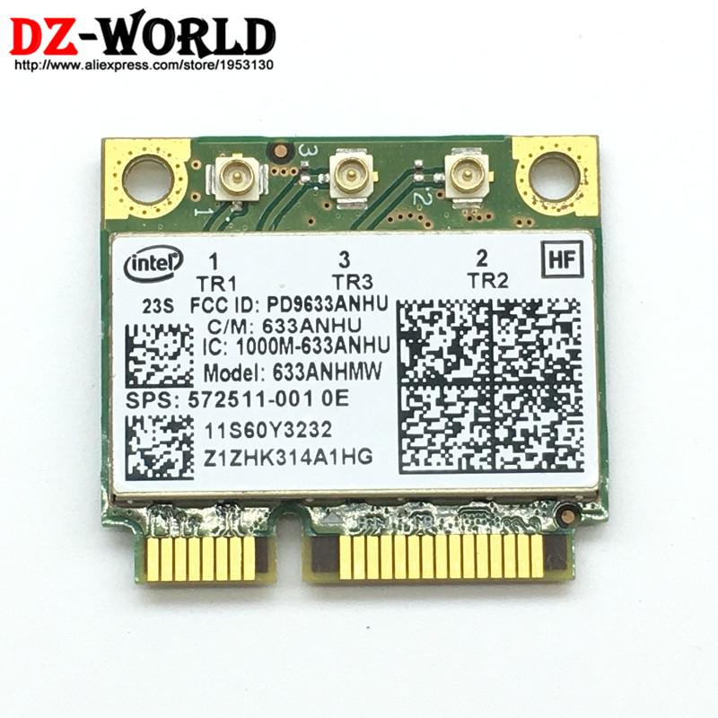 For Intel Ultimate-N 6300 AGN Mini PCI-E 450Mbps Wireless WLAN Card 60Y3233 for Thinkpad X1 X230 X230i X230T (X230 Tablet)