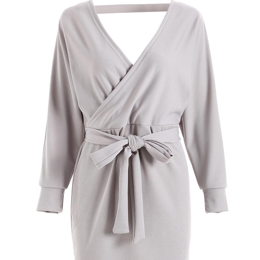 quality design ebfdc b64da Warm Long Korean Style Sweater Dress Women Sexy v Neck Korean Fall Cashmere  Pullover Women Maglioni Donna Woman Clothes 5Zc0228