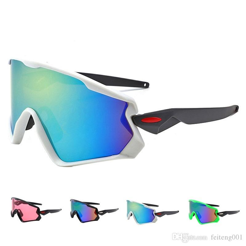 Cycling sunglass Eyewear UV400 MTB Bike Bicycle Windproof Goggles Outdoor Sport Glasses Large frame Racing Eyewear for Men Women #488198