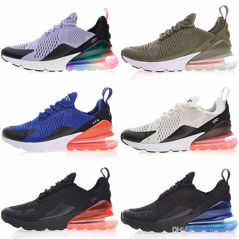 0b5de41caf52 2019 270 World Cup Champion France Bruce Lee Teal Triple Black White Hot  Punch 27C Photo Blue Mens Running Shoes Women 270S Sports Sneakers From  Trainer66