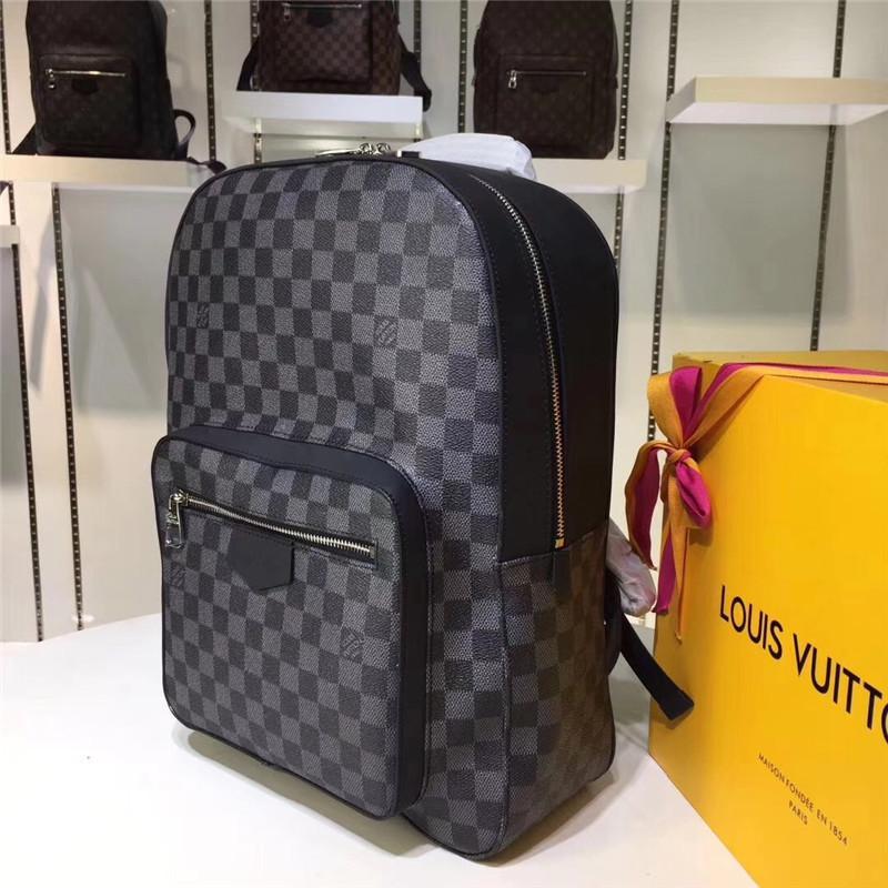 65e9145b7084d Großhandel 2019 Designer Rucksack Herren Luxus Rucksack Berühmte Marke  Doppel Umhängetaschen Männliche Marke Schultaschen Leder Umhängetasche Von  Dahlia bag ...