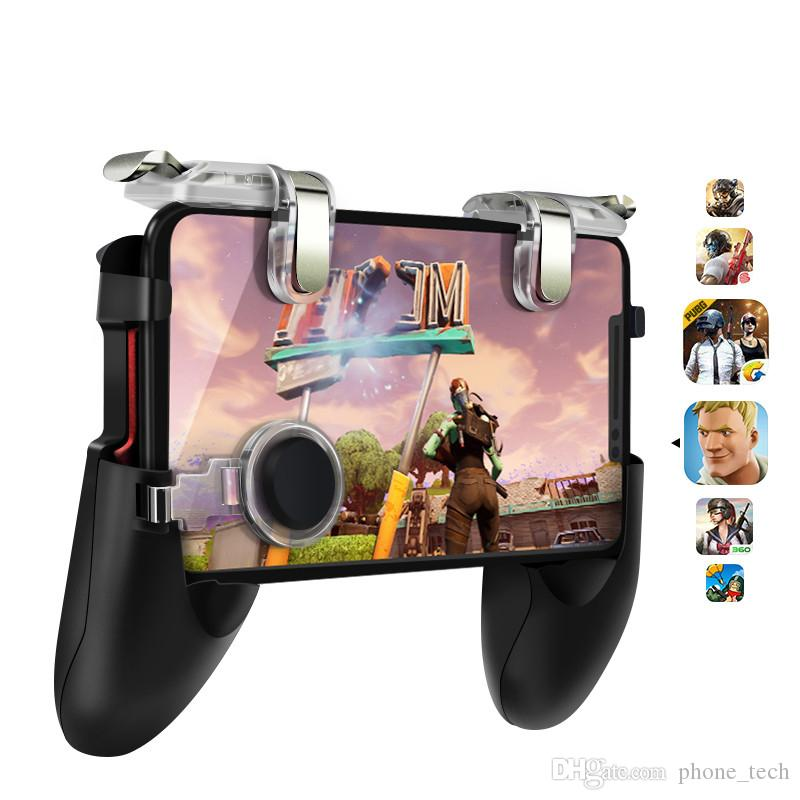 PUBG Game Controller For PUBG Mobile Trigger For Android iphone Gamepad Aim Button L1R1 Joystick