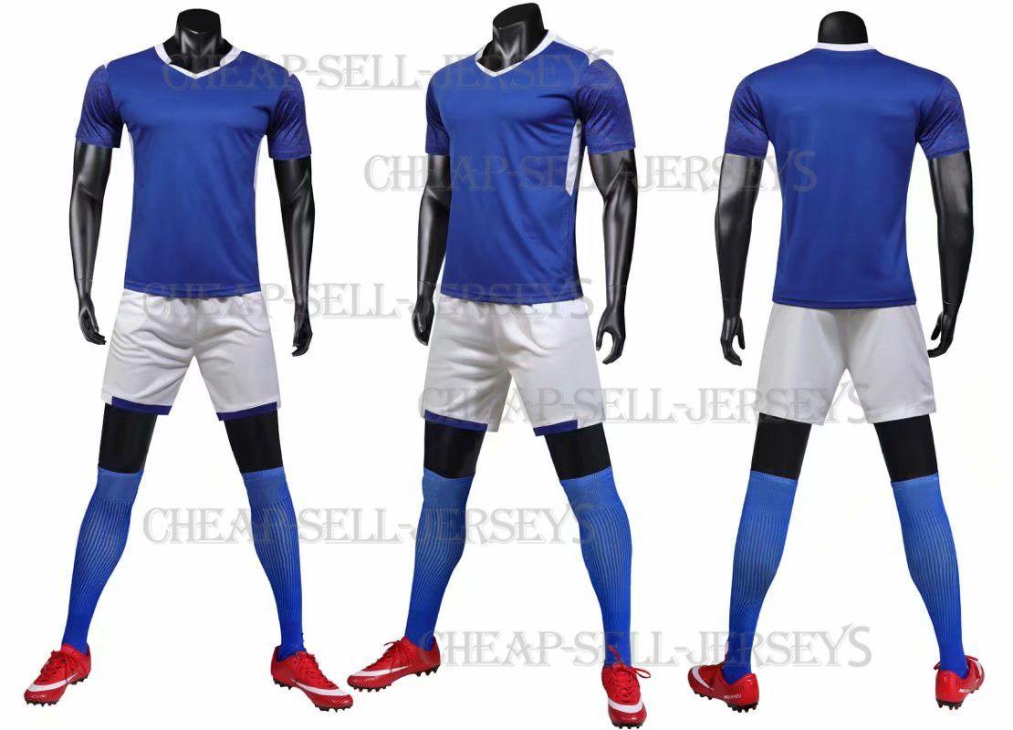 63a933e36 2019 Men Soccer Jerseys Set Football Kit Training Suits Uniform For ...