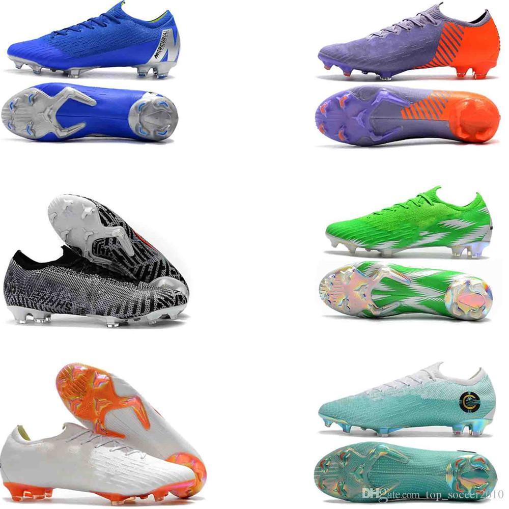 082030352cc5 2019 Original Mercurial Frenzy XII Superfly VI 360 Elite FG KJ 6 XII CR7  Ronaldo Neymar Men Women High Soccer Shoes 20th Football Boots Cleats From  ...