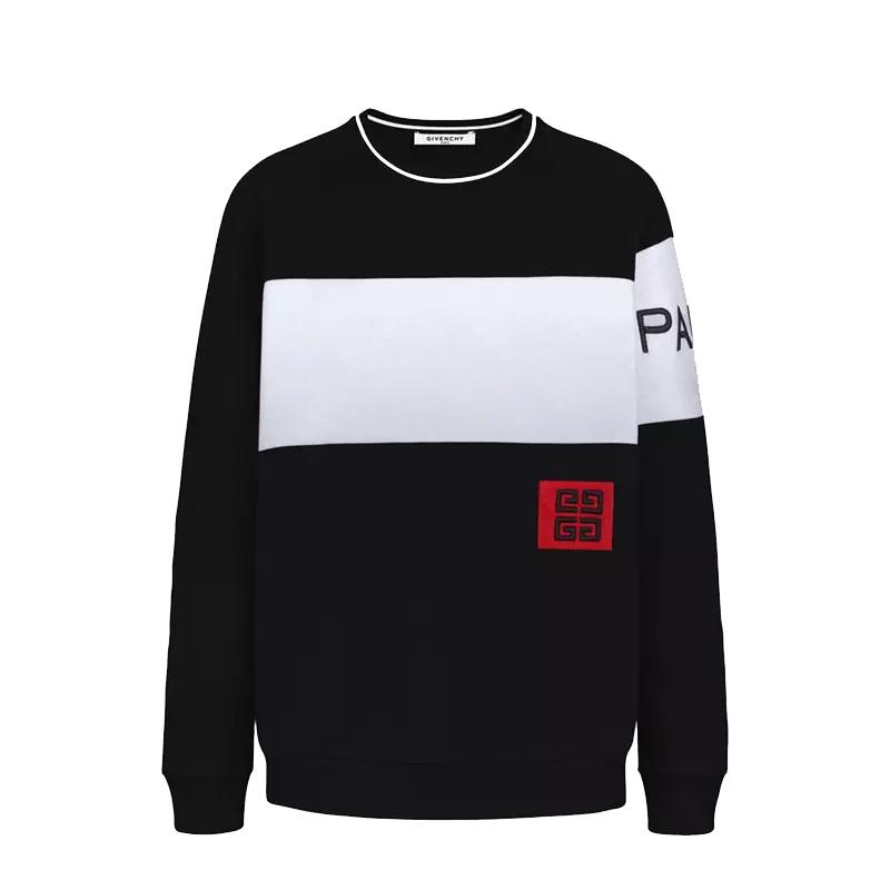 75d10e2d 2019 Mens Designer Hoodies Sweatshirts Designer Pullover Sweatshirts GVC  Brand Men Pullover Long Sleeved Letter Embroidery Fashion Clothes S~2XL  From ...