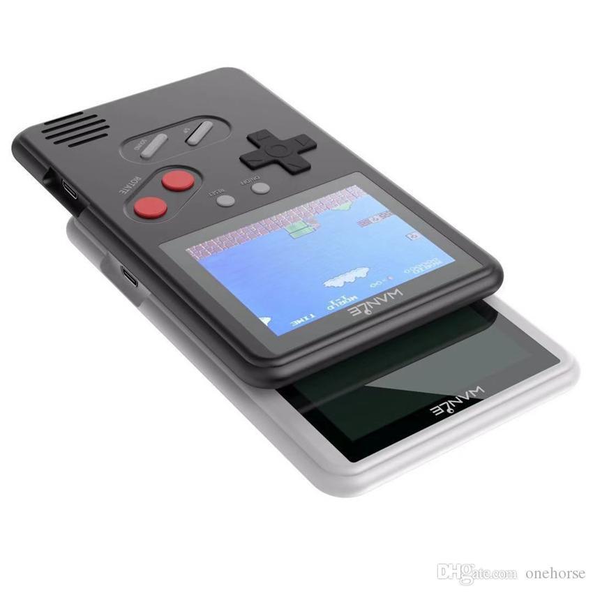 تمت ترقيته 500 ألعاب رقيقة جدا البسيطة المحمولة لعبة وحدة تحكم المحمولة الكلاسيكية ألعاب الفيديو شاشة عرض اللون مع مربع البيع بالتجزئة