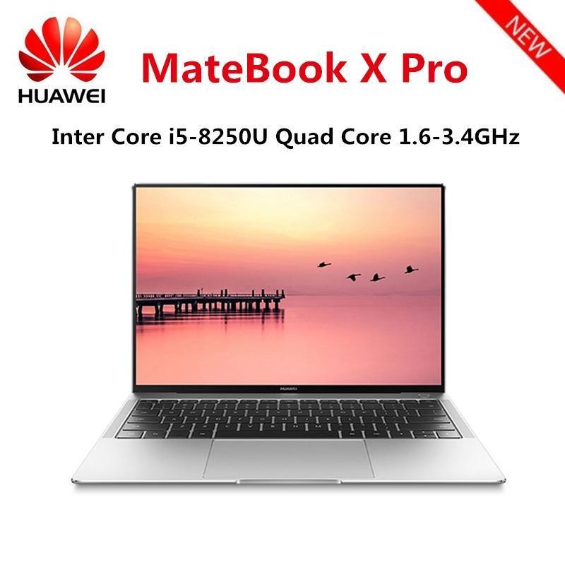 Original HUAWEI MateBook X Pro Laptop Intel Core i5-8250U 8GB RAM 256GB SSD  NVIDIA Geforce MX150 Touch Screen Windows 10 OS
