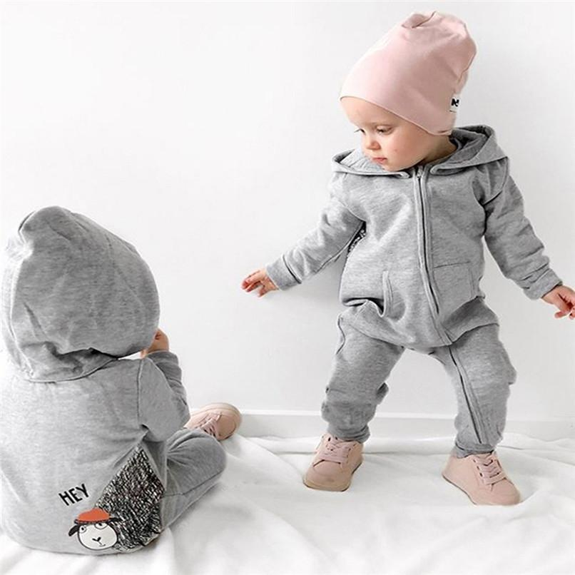 801e557b4 2019 Winter Babys Clothes Toddler Infant Baby Boys Girls Cartoon Sheep  Hooded Long Sleeve Jumpsuit Romper Clothes Baby Rompers D03 From  Nextbest01, ...