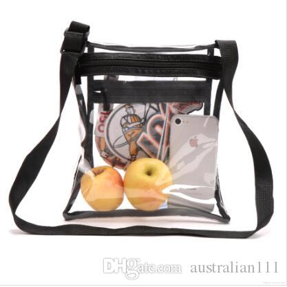 free shipping the new Clear Crossbody Purse Bag for Football Stadium Approved Clear Shoulder Tote Bag