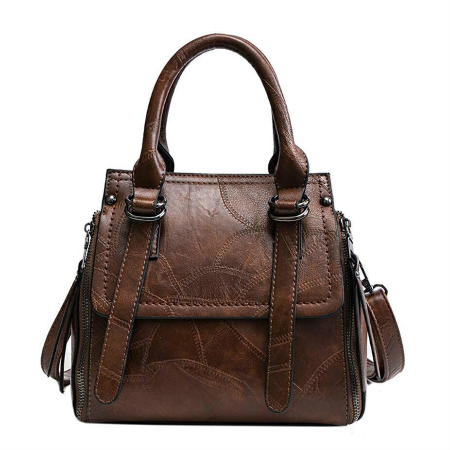 179de5000a European Vintage Fashion Female Big Tote Bag 2019 New Quality Soft Pu  Leather Women Bag Large Handbags Shoulder Messenger Bags Leather Backpacks  Shoulder ...