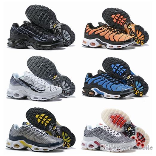 2019 neue tn plus ultra se laufschuhe für männer tns orange blau lila herren designer sport trainer turnschuhe chaussures zapatillas 40 46