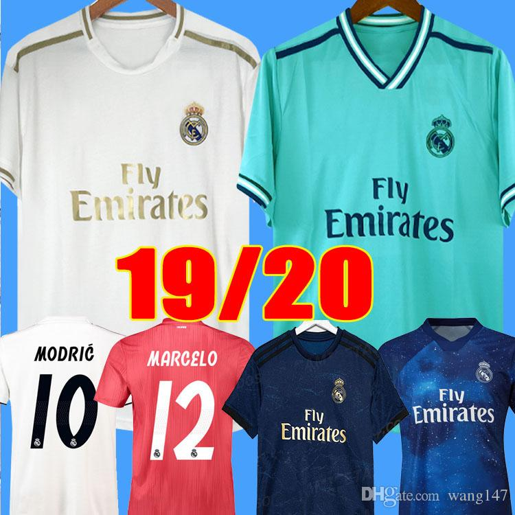 buy popular 65f59 0f6c7 2019 2020 Real Madrid Soccer Jersey home away NEW soccer shirt #20 ASENSIO  ISCO MARCELO madrid 19 20 Football uniforms size S-2XL