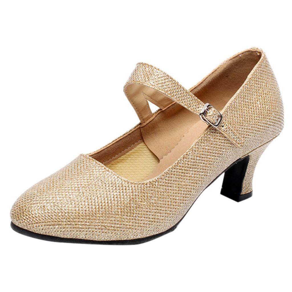 08c9f0fccc378e Créateur Chaussures habillées pour femmes 2019 Nouvelle mode Printemps Eté  Salle de bal Tango Salsa latine Danse Lady Paillettes Mariage Social