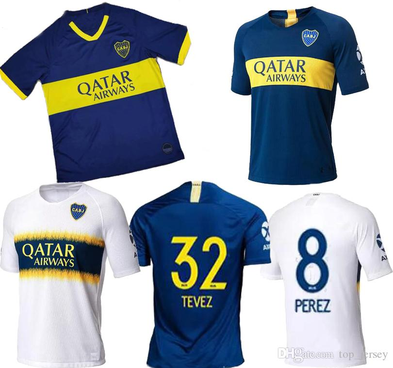 ce72cd1bae4 2019 2019 Boca Juniors Home Blue Away 3rd Mens Soccer Jersey 19 20 TEVEZ  CARLITOS Benedetto GAGO PAVON Cardona Men Football Shirt 2020 From  Top_jersey, ...