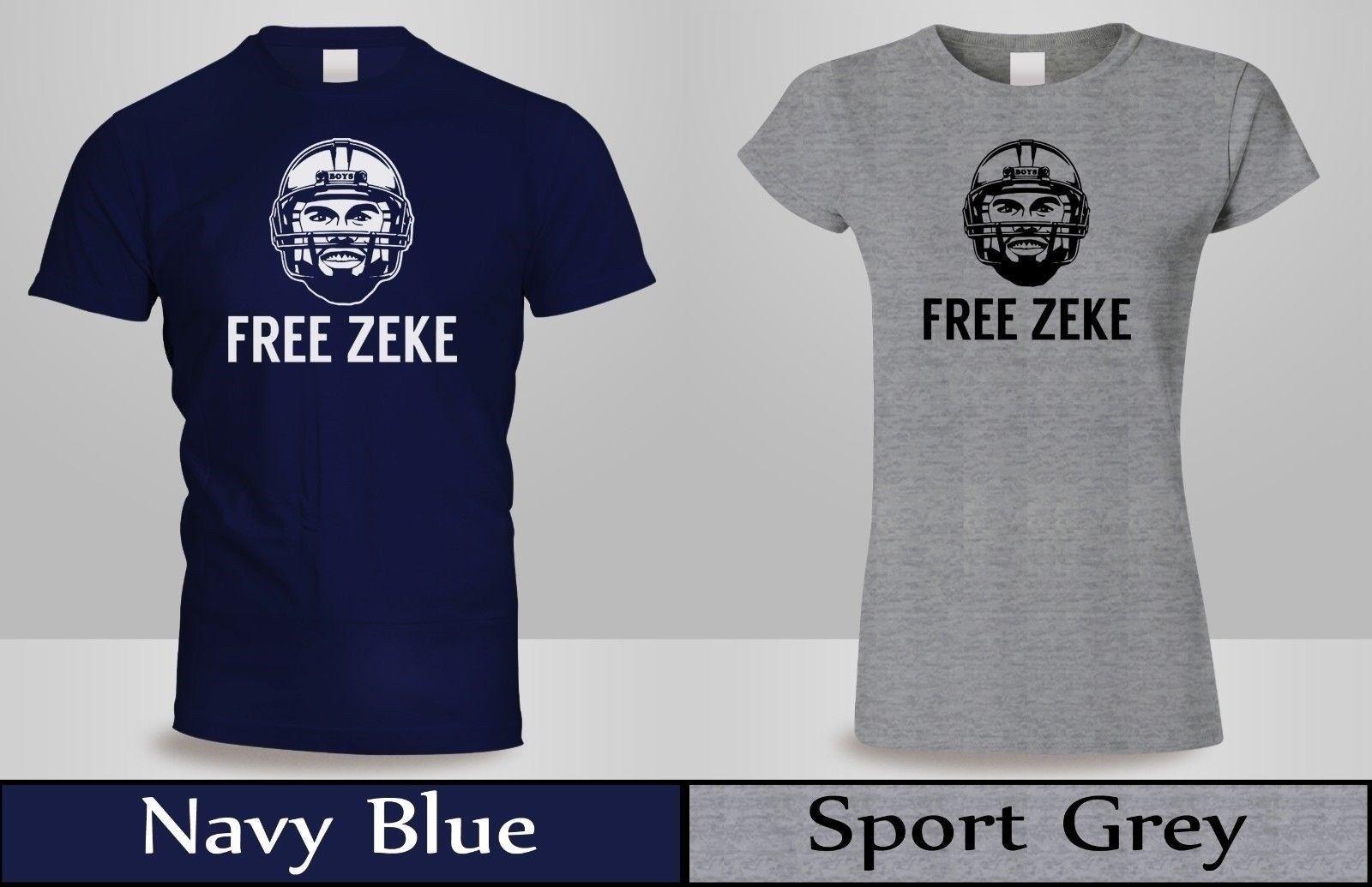 size 40 e8ea7 8dd40 FREE ZEKE T-SHIRT Men/Women EZEKIEL ELLIOTT DALLAS SUSPENDED COWBOYS Tee  New 3Funny free shipping Unisex Casual