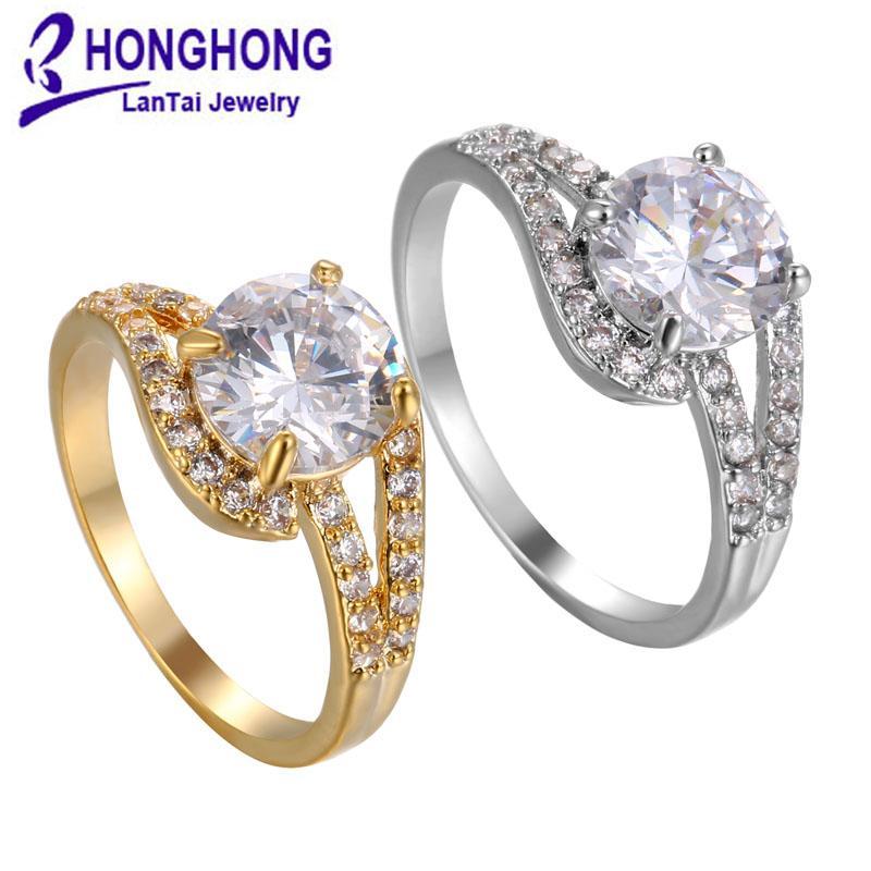 2020 Diamond Crystal Rings Cubic Zirconia Rings Crown