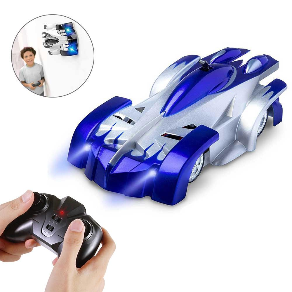 Wholesale Remote Control Wall Climbing RC Car with LED Lights 360 Degree Rotating Stunt Toys Antigravity Machine Wall Racer
