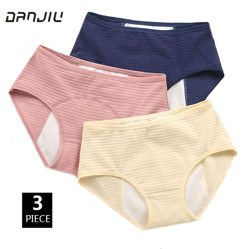 004fb24c7d1e 2019 Cotton Solid Physiological Period Leak Proof Menstrual Panties Soft  Breathable Mesh Women Underwear Seamless Lady Breifs From Ferdinand07, ...