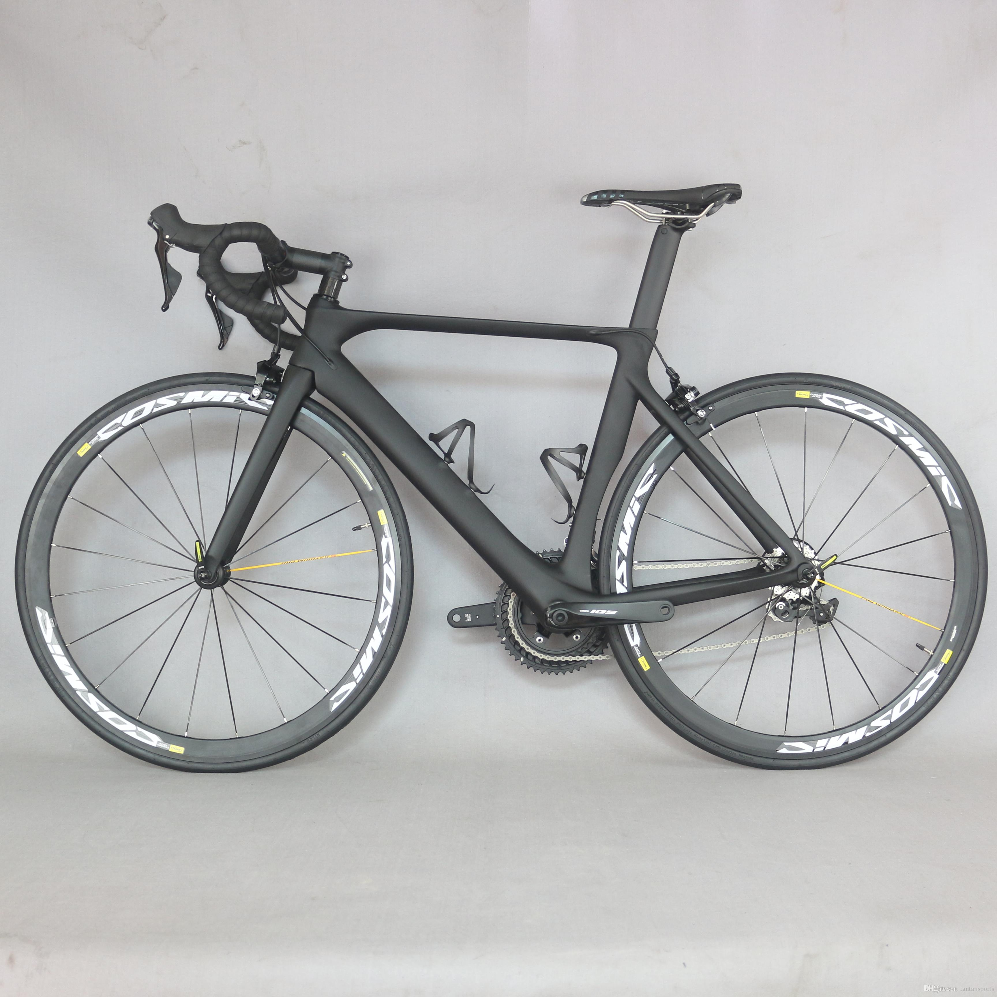 Carbon road bike FM268 Aero design 2019 full Carbon Road Bike Complete Bicycle Carbon Cycling Road Bike with R8000 22 Speed Grou