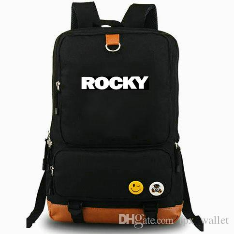 Boxer backpack Rocky daypack Fighting will best laptop schoolbag Leisure rucksack Sport school bag Outdoor day pack