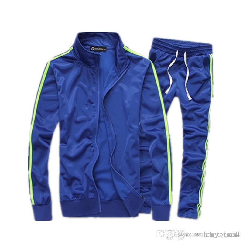 c0bd06e537e Mens Tracksuit Brand Sport Suit Men women Sport Tracksuit Casual ...