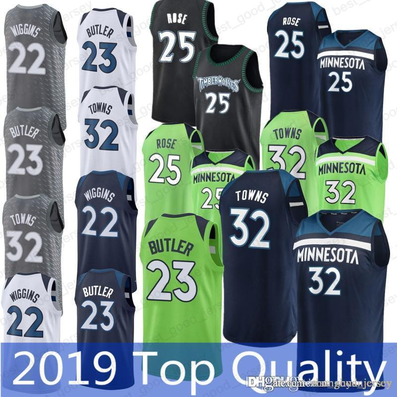f3cf782184c4 25 Derrick Rose 32 Karl-Anthony Jerseys 23 Jimmy Butler 22 Andrew ...