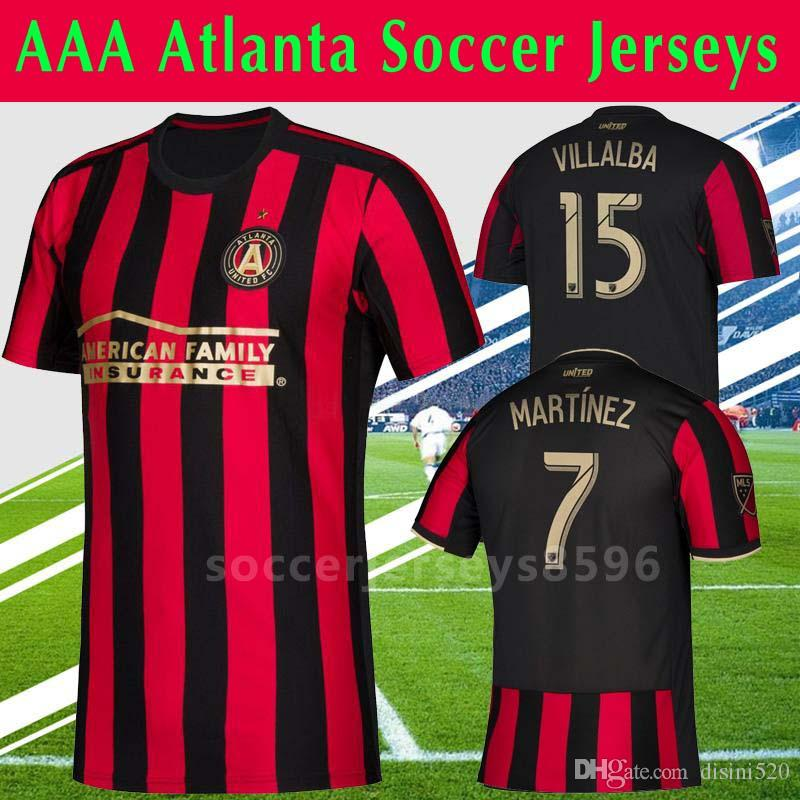huge selection of afc17 a49c0 2019 2020 MLS Atlanta United home Soccer Jerseys Football Shirt 19/20 MLS  VILLALBA BARCO G.MARTINEZ MARTINEZ Soccer jerseys Football Shirts