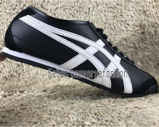 premium selection d220f abfff 2019 wholesale NewAsics Onitsuka Tiger Running Shoes For Men & Women  Athletic Outdoor Boots Sport Mens Womens Sneakers Leather Shoes