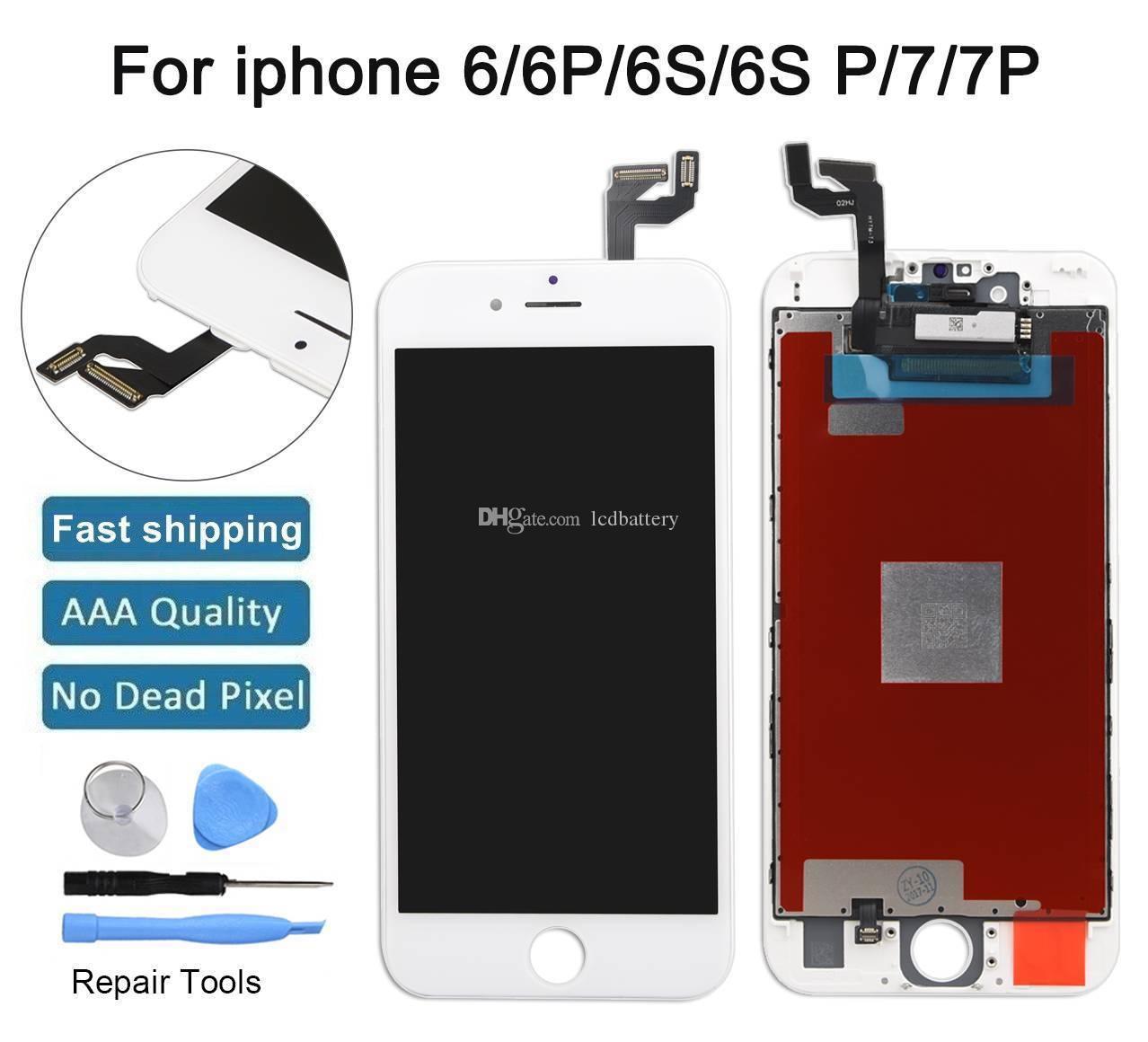 19306614ed5 Venta De Pantallas Para Celulares Tianma Glass Grade A +++ Pantalla LCD  Pantalla Táctil Digitalizador Asamblea Completa Para IPhone X 7G 7pule 6S  6G 5G 5S ...