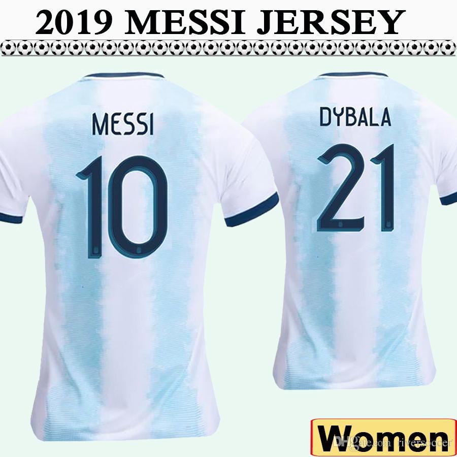 san francisco 9c6af d6743 Messi Camisetas Higuain Dybala Sleeve Argentina Di Aguero ...