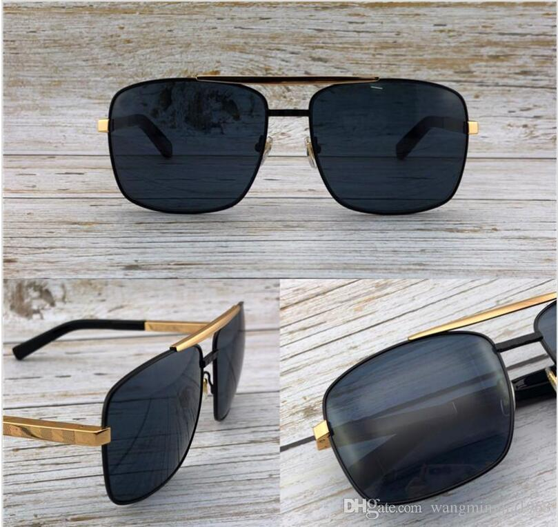 b746ffc092c8 Fashion Designer Sunglasses Metal Square Two Color Frame Classic Retro Men  Outdoor Protection UV400 Eyewear Top Quality With Orange Case1080 Online ...