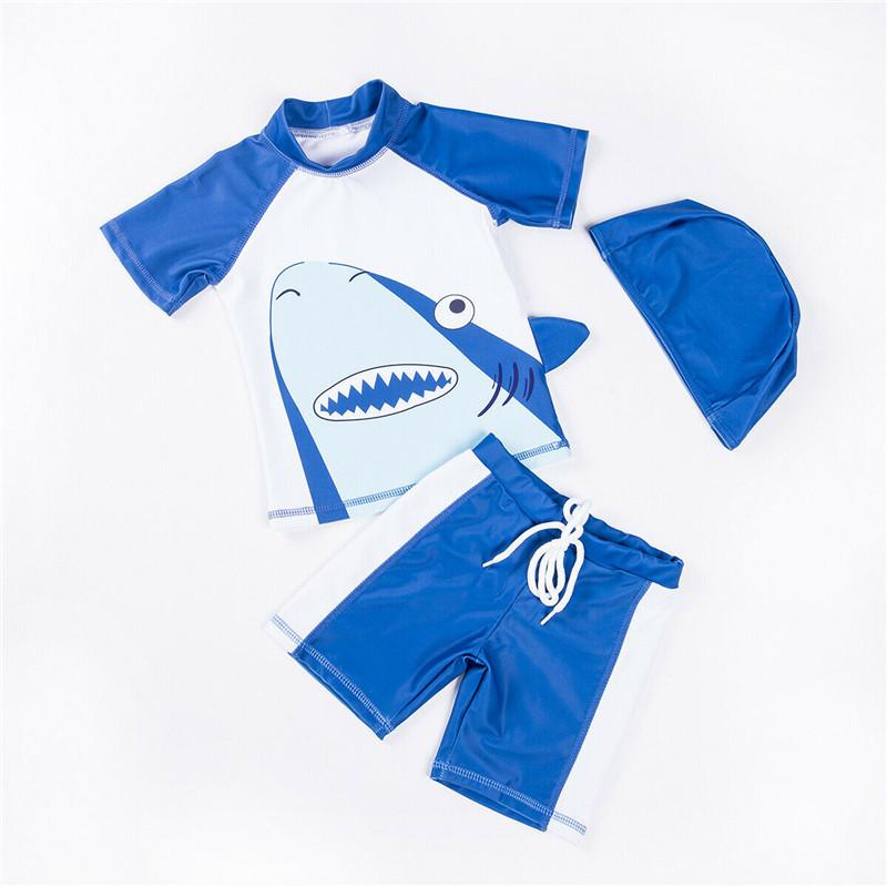 c78ce0a297 2019 Summer New Kids Baby Boys Swimsuit Swimwear Quick Dry Rash Guard  Surfing Costume Toddler Boy Clothes Cotton O Neck 1 6T From Windowplant, ...