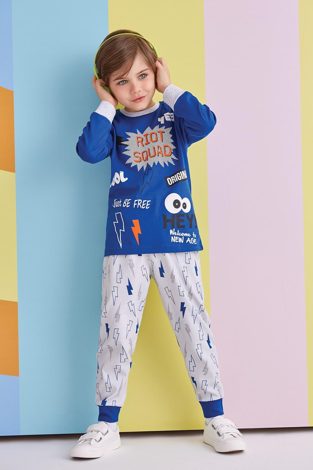 RolyPoly Boys Long Sleeve Pajamas Set