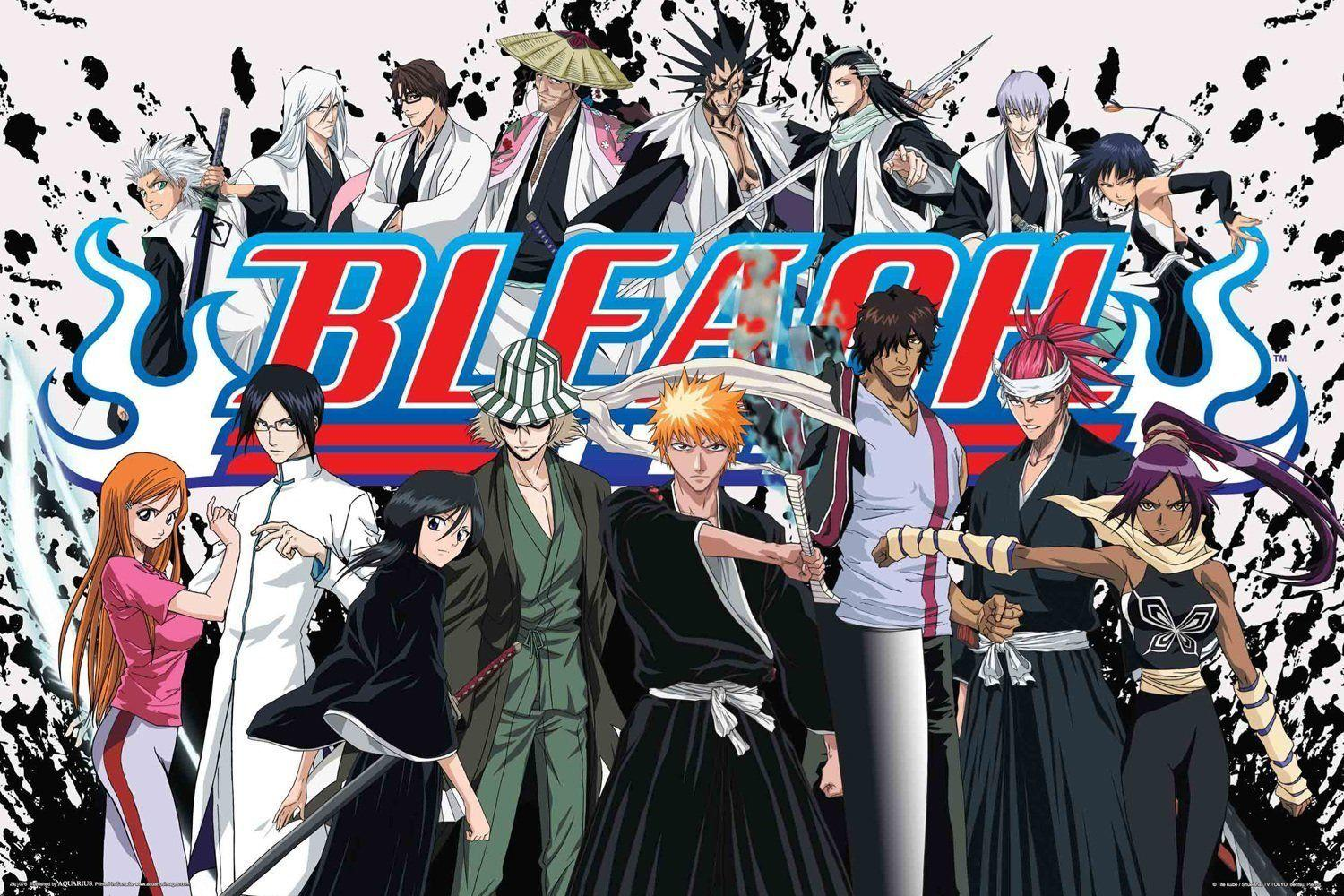 BLEACH - ANIME Art Silk Poster 24x36inch 24x43inch 0587