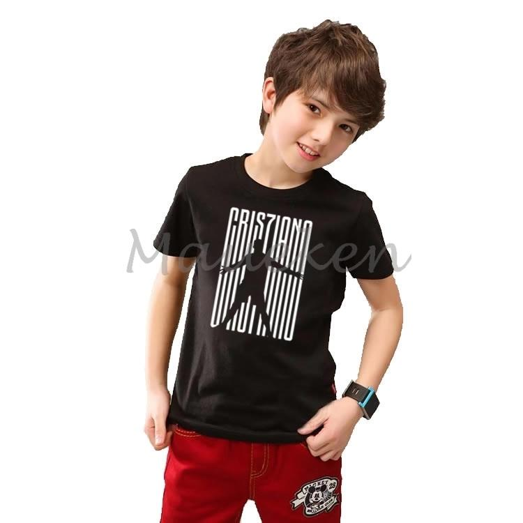 uk availability 627cf 2cae5 Kids Cr7 Cristiano Ronaldo 7 Cr7juve Welcome Juve T-shirt Clothes T Shirt  Youth Boys Girl Tshirt O-neck Tee W19032801 Y190523