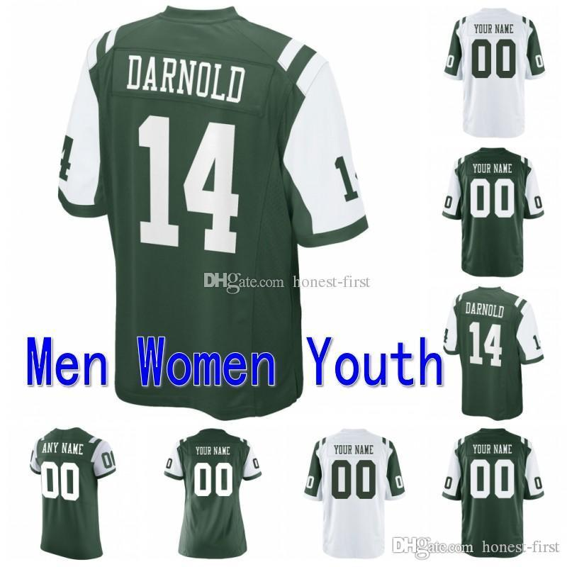 quality design 713e5 470c7 Custom Men Youth Women New York 14 Sam Darnold 26 Le Veon Bell 12 Joe  Namath 33 Jamal Adams 15 Tim Tebow 28 Curtis Martin Jets Elite Ga
