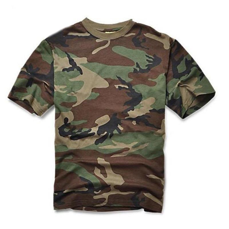 efced769 Mens Army Police T Shirts Tactical Military Camouflage Cargo Tops Airborne  Marine Corps Tees Swat Camo Short Sleeve Summer Cs C19041303 Comedy T Shirt  ...