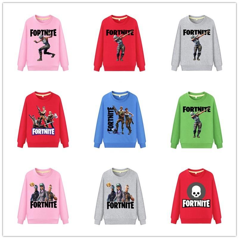 6ef41d67a 50 Styles Game Fortnite Kids Hoodie Boys Girls Long Sleeve Pure Cotton  Sweatshirts Autumn Winter Children Outwear Casual Pullover Tops Online with  ...