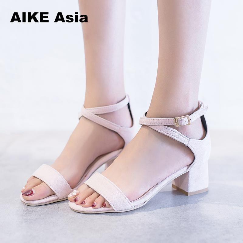 Acquista Estate Mujer Primavera 2018 Sandali 2019 Zapatos Abito dCtshQxr
