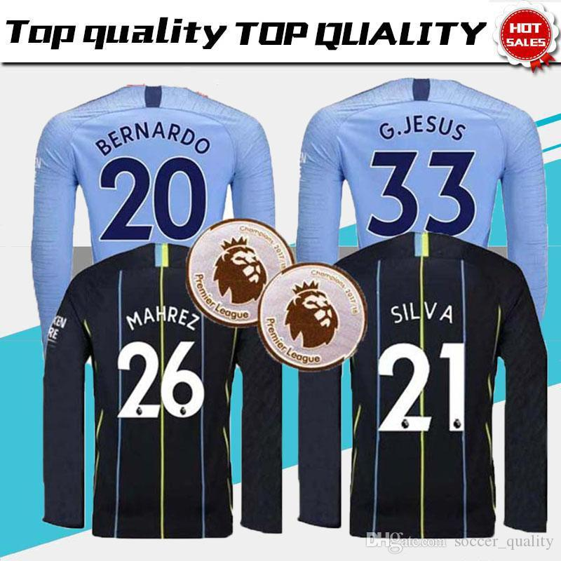 f117d4fff Cheap Long Sleeves Home Soccer Jersey Best Football Shirt Soccer Jersey