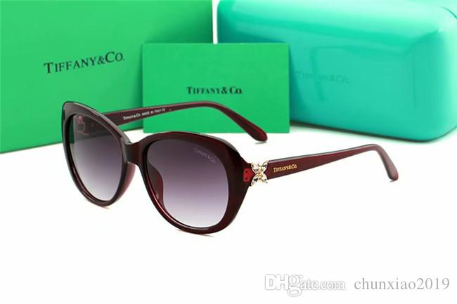 2019 new metal ocean piece sunglasses fashion trend sunglasses vintage sunglasses for men and women 4048