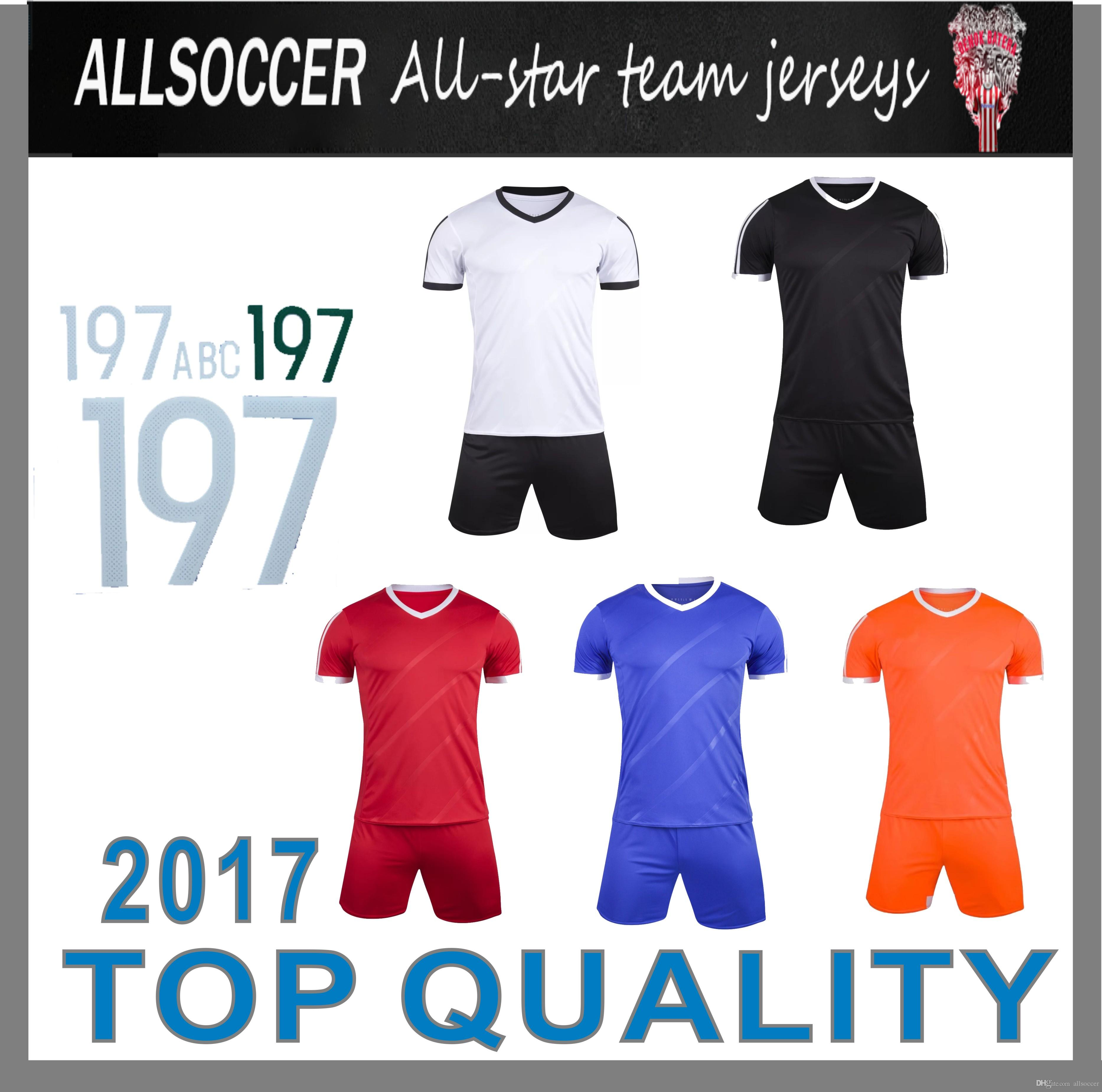 4f3fe144b5155 Compre 807 1601 !! Camisetas De Entrenamiento De Fútbol