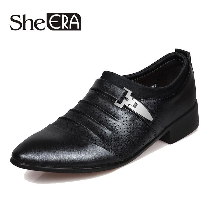 5cbaab33bea Acheter 2019 NOUVEAU Plus La Taille 38 48 Hommes Chaussures Habillées  Classique Bureau D affaires Oxford Chaussures Pour Hommes Mocassin Homme  Dropshipping ...