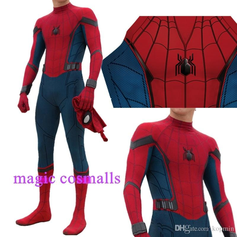 Endgame Avenger Spider-Man Homecoming Cosplay 3D Stampato Spiderman Body