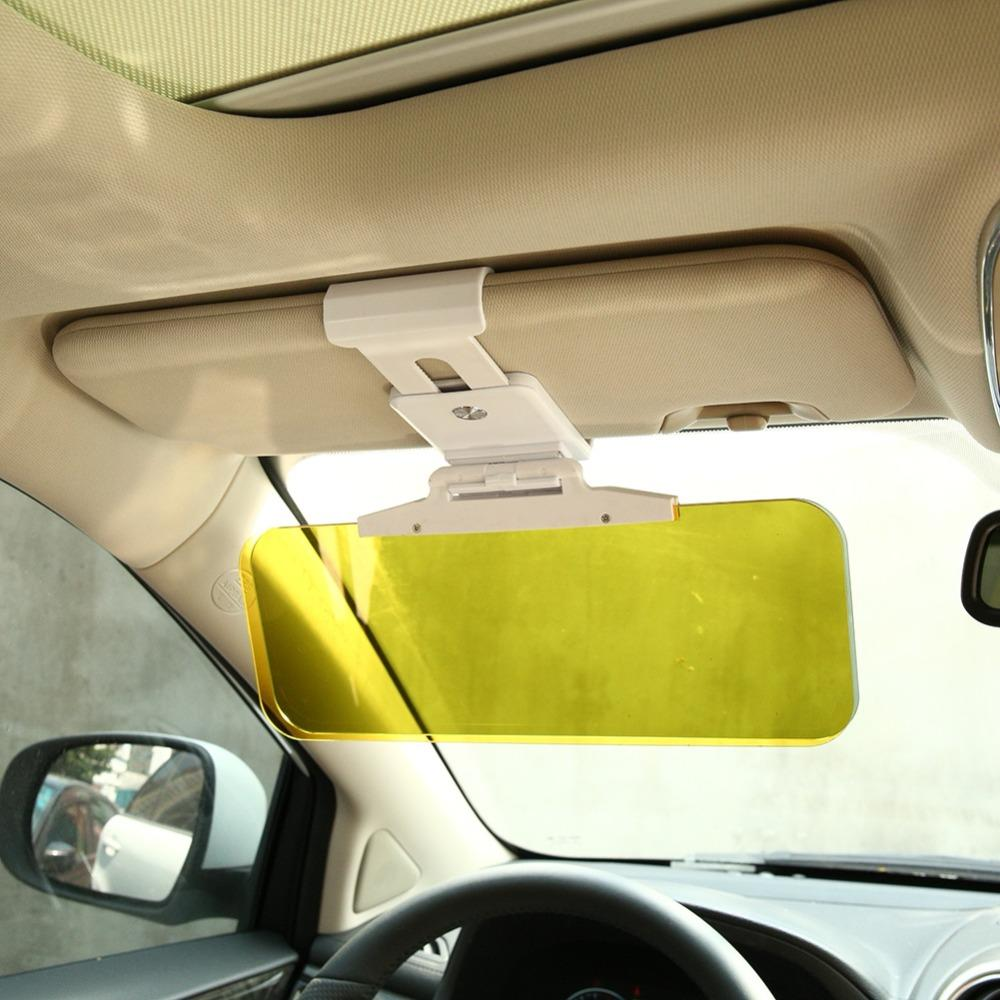 Car Sun Visor UV Dazzling Goggle Flip Vision Fold Anti 9449 View Mirror 7801 HD Sunlight Down Driving Clear Night Day