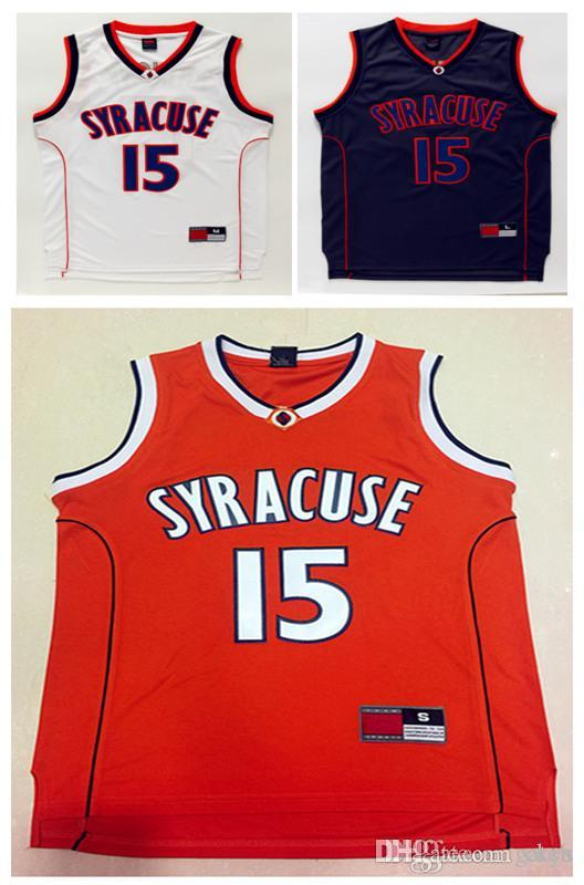 get 2019 ncaa high quality syracuse college jerseys 15 carmelo anthony  shirt orange blackwhite top quality 0fec6185b