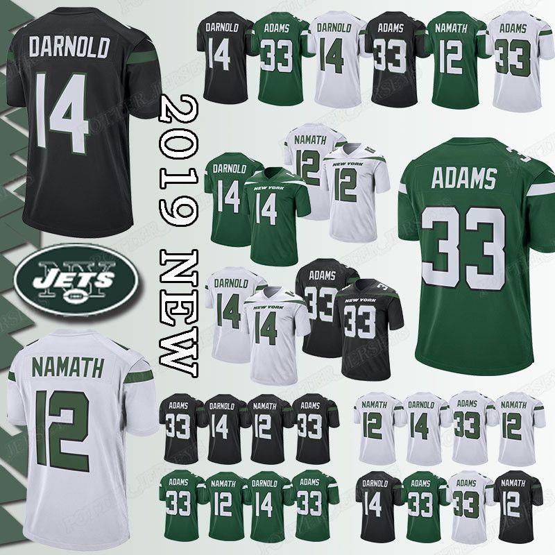 b3b57e78db8 2019 33 Jamal Adams Jersey New York Jerseys 14 Sam Darnold Jets 12 Joe  Namath Jerseys Top Quality From Ron_jerseys, $23.5 | DHgate.Com