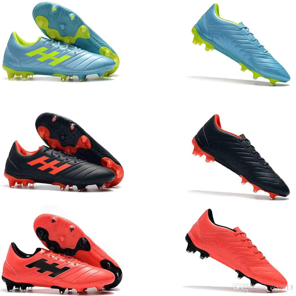 2019 High End Soccer Cleats 2019 Mens Low Ankle Football Boots Copa 19+FG  Outdoor Soccer Shoes Copa 19.4 Indor Size 39 45 From Ccl2013 d59e097e4